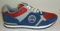 Timberland Size 10 MARINO A1GJO Blue Gray Red Suede Sneakers New Mens Shoes