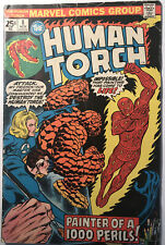 Marvel Human Torch #8 1 Bronze Age Comic Book 1st Print VG!!