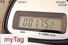 HEUER 80's MICROSPLIT 2063 DIGITAL STOP WATCH