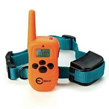 Esky Rechargeable LCD Remote Shock Control Pet Dog Training Collar w/ 100 Level