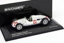Tazio Nuvolari Auto Union Typ D Winner GP Italien 1938 1:43 Minichamps