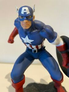 Marvel Civil War Figürchen PVC Captain America 1/8