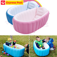 Inflatable Portable Travel Compact Toddler Infant Kids Baby Bath Tub Outdoor