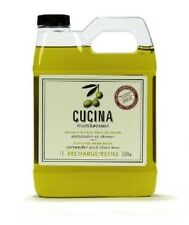 Hand Wash Refill Soap Purifying Coriander and Olive Tree 33.8 oz 1L Clear Mild