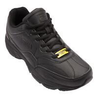 Men's Fila® On-The-Job SR Black Slip Resistant Work Shoes Medium Width Size