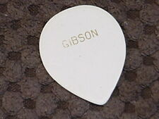 Vintage Gibson white  guitar pick   40s-50s  old guitar pick