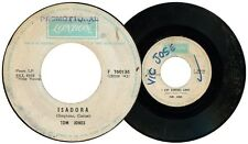 Philippines TOM JONES Isadora LONDON Promo 45 rpm Record
