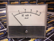 SHURITE, 7305Z, CURRENT MTR; FUNCTION:DC MILLIAMPS; METER RANGE:0MA TO 25MA