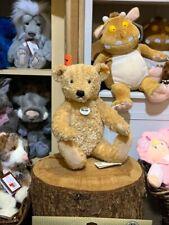 Steiff Elmar Traditional Soft Plush Teddy Bear, Fully Jointed, Size Large 40cm