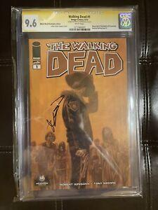 Walking Dead #1 Wizard World Philly Signature Series  Robert Kirkman CGC 9.6