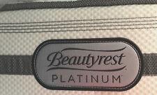 Simmons Beautyrest Platinum Luxury Firm Queen Mattress + Box 2 Pc Set