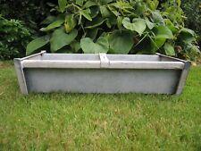 Vintage Galvanised Trough Garden Vegetable Planter  61 cm Long (755)