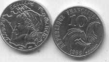 PIECE MONNAIE FRANCE 10 Francs JIMENEZ 1986 trés bon état