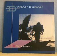 "DURAN DURAN Save A Prayer 1982 UK 12"" vinyl single EXCELLENT CONDITION"