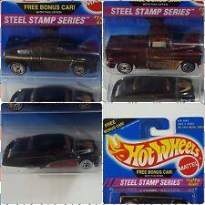 Hot Wheels - Steel Stamp Series - 2 Pack - Lot of 2 _ Passion Zender Flashside