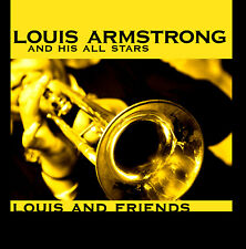 CD Louzis Armstrong And His All Stars Louis And Friends