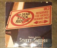 Street Sweeper -  Various Artist Reggae Riddim Compilation Vinyl LP