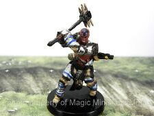 Iconic Heroes CROWE, HUMAN BLOODRAGER #1 Pathfinder Battles set 4 miniature