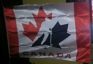 Licensed Canada Ice Hockey Team 3'X5' Large FLAG BANNER - New