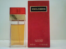 DOLCE & GABBANA RED 50ML EDT SPRAY WOMEN'S PERFUME FRAGRANCE RARE MADE IN ITALY