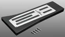 BMW AC Schnitzer OEM Eloxed Matt Aluminum LHD Footrest Fits Most BMW Models NEW