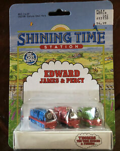 Shining Time Station Ertl 4034 Edward James & Percy NOC 1992