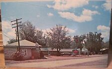 Eastern Mt Postcard Sagebrush Motel Miles City Hwy 10 12E Paul Bunke Stephens Ad