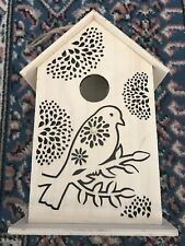 Decorative Wooden Die Cut Birdhouse - Free Standing Or Hanging, Crafts Paint DIY