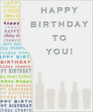 Cheers Birthday Card - Greeting Card by Freedom Greetings by Freedom Greetings