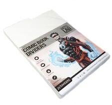 Battle Lab - Premium White Comic Book Dividers 25 pk