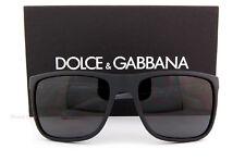 Brand New Dolce & Gabbana Sunglasses 6086 2805/87 BLACK/Grey For Men