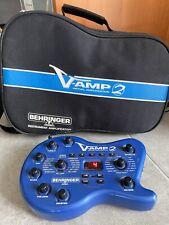 BEHRINGER V AMP 2 VIRTUAL AMPLIFICATION COMPLET TBE