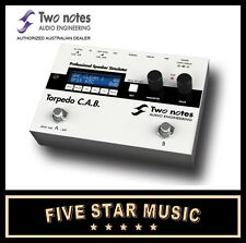 TWO NOTES TORPEDO C.A.B.SPEAKER CABINET LIVE SIMULATOR STOMPBOX CAB NEW 2 NOTES