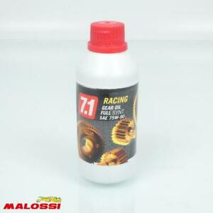 Gleitgel Und Pflege Malossi Motorrad 7.1 Racing Gear Öl SAE 75W-90 Neu