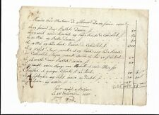 BEZIERS MEMOIRE DE MONSIEUR DE VILLENEUVE FEVRIER 1810