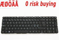 For HP Pavilion DV7-4000 DV7-5000 Keyboard Nordic Swedish Norsk Danish no frame