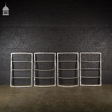 Set of 4 Art Deco Steel Crittall Window Frames