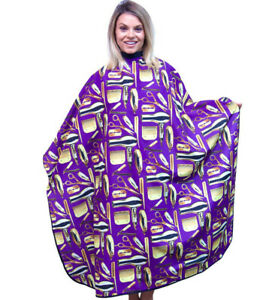 Barber Capes Hair Cutting Cape Salon Cape With Snap Buttons King Midas Capes