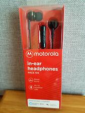MOTOROLA In-Ear-Kopfhörer Headphones PACE 105 Stereo Sound Handsfree Calls Mic