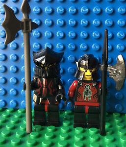 LEGO Castle Knights Kingdom Shadow Knight Vladek Minifigures Lot 8781 8779