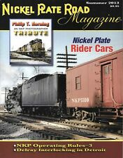 Nickel Plate Road Summer 2013 Rider Cars Operating Rules Orders Detroit Delray