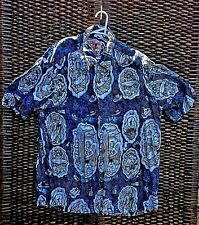 MAMBO LOUD SHIRT LARGE SIZE TOP BLOKE AUSTRALIAN SURFING GODS & LONGBOARDS BLUE