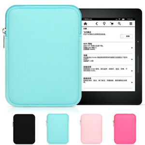 Soft Tablet PC Sleeve Cover Pouch Neoprene Case Bag for iPad Air Mini Kindle New