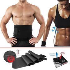 Waist Trimmer Belt Weight Loss Sweat Band Wrap Fat Burner Tummy Stomach Sauna