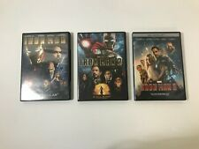 Iron Man 1, 2, & 3 DVD (COMPLETE TRILOGY) Free Shipping