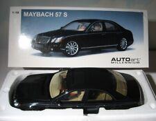 2005 Mercedes Maybach 57 S  1:18 AutoArt diecast  MIB  76156   Obsidian Black