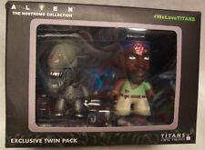 Titans Exclusive Twin Pack ALIENS ALIEN BIG CHAP & PARKER VINYL FIGURES TOYS NEW