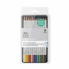 Winsor & Newton Studio Collection Water Colour Pencils 12 Set