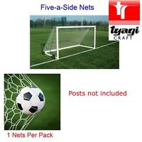 Football Net Five a Side 5-a-Side Junior Game Goal Netting 3 Metre 10 feet