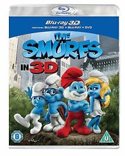 The Smurfs (3D Blu-ray, 2011, 2-Disc Set)
